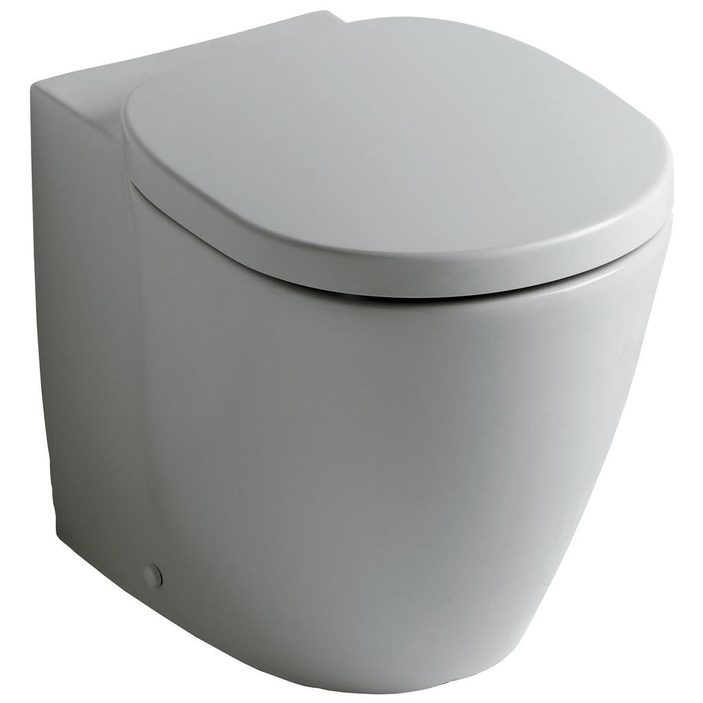 Sanitari Filo Muro Ideal Standard.Sanitari Serie Connect Bia Vaso Filo Muro Completo Di Sedile