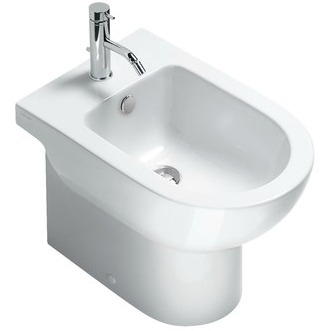 Sanitari serie sfera 54 cat bidet 54 filo muro for Ceramica catalano